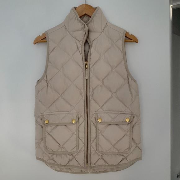 J. Crew Jackets & Blazers - J.Crew Cream Vest